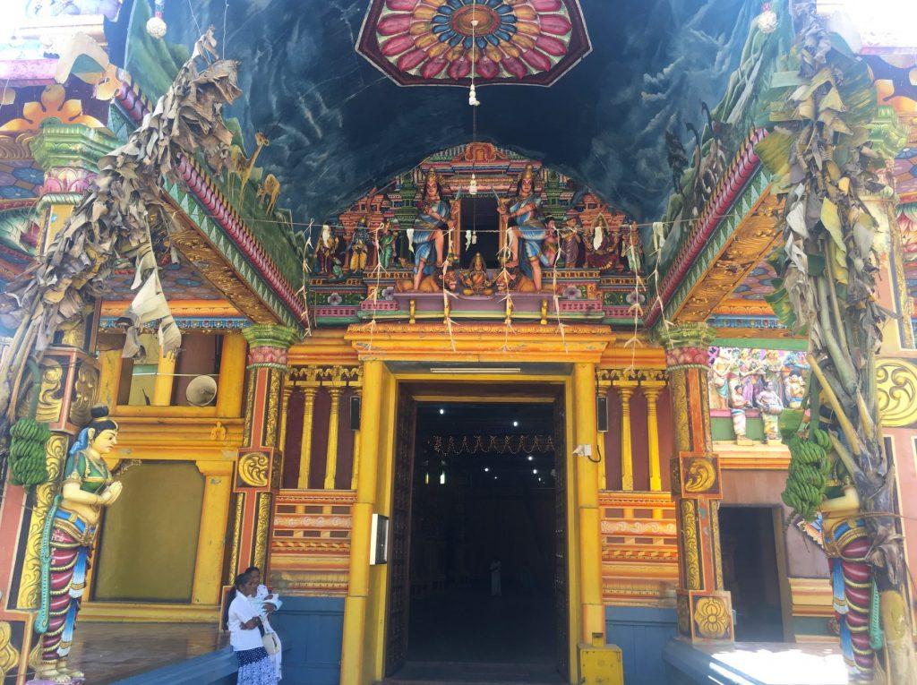 Sri Muthumariamman Hindu Temple in Matale
