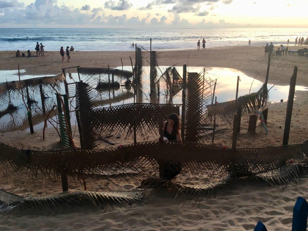 Zoe Labyrinth on Hikka Beach Sri Lanka